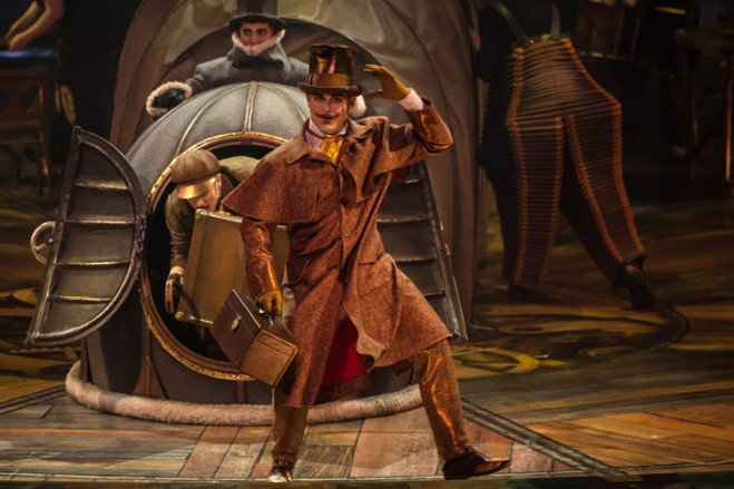 Save 40% on tickets when Cirque Du Soleil meets Steampunk in all new show available on TicketsatWork!