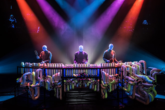 Blue Man Group Las Vegas – Photo Credit Lindsey Best