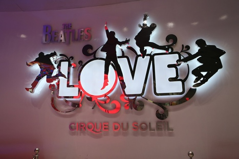 Tickets at Work can get you insider access into LOVE and O by Cirque du Soleil.