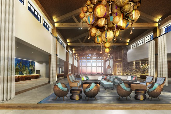 Opening Summer 2016, the Lowes Sapphire Falls Resort will add an on-site Caribbean destination for guests.