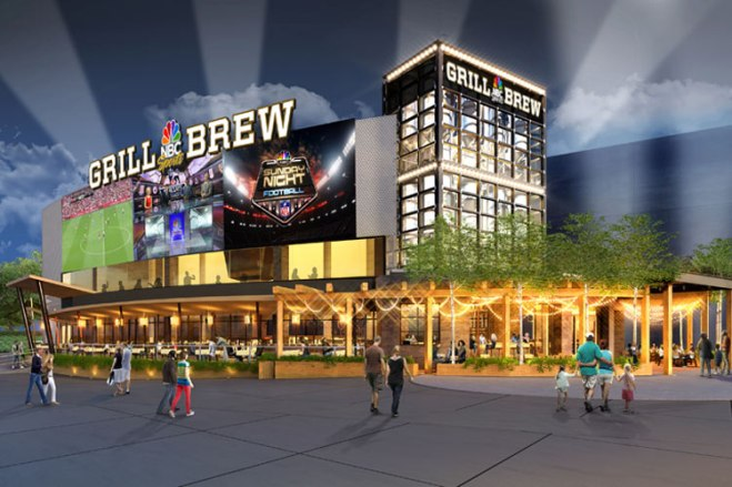 Get the best sports entertainment experience at the new NBC Sports Grill & Brew opening on CityWalk.