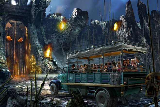 King Kong returns to Universal Orlando with Skull Island: Reign of Kong opening next summer