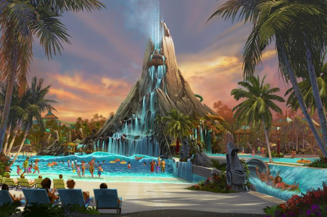 Universal to get Water Park in 2017 with Universal's Volcano Bay!
