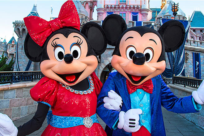 Disneyland favorites will be on hand to help celebrate the Diamond Days Sweepstakes.