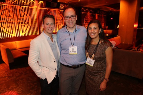 President and CEO Brett Reizen, Senior Vice President of Marketing Stephanie Baker, and Director of Marketing Todd Stuart at TAO.