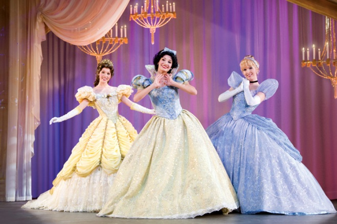 The adventures of Belle, Snow White and Cinderella come to life in Disney Live! Three Classic Fairy Tales with discount tickets at TicketsatWork.