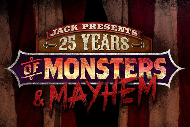 Jack the Clown will bring the monsters and fears in his 25 Years of Monsters and Mayhem house