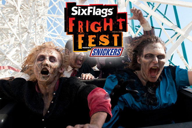 Six Flags frightfest is a scary good time happening in Six Flags Parks across the nation