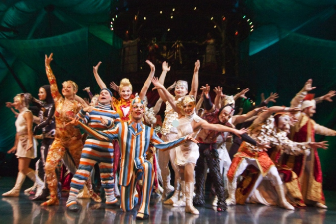 TicketsatWork.com welcomes you to witness the incredible, wildly entertaining feats of Kooza by Cirque du Soleil, now showing in Austin, TX.