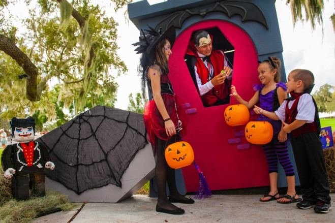 Have a ghoulish good time at LEGOLAND's Brick-or-Treat and other kid-friendly Halloween events in Orlando!
