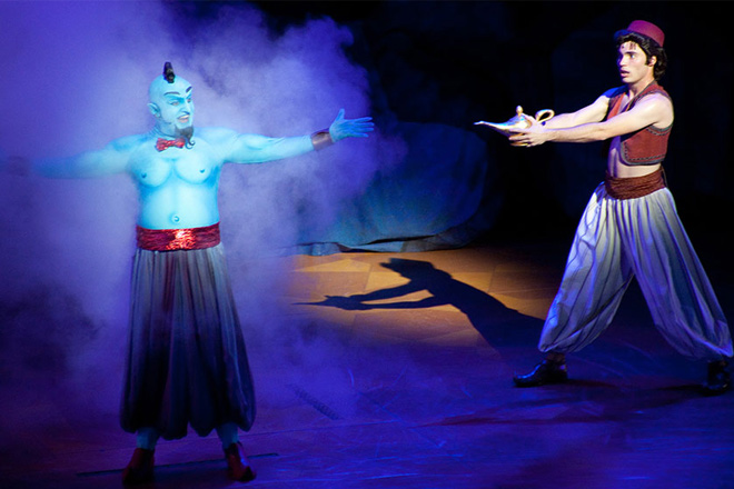 Disney's Aladdin – A Musical Spectacular will run through January 10, 2016