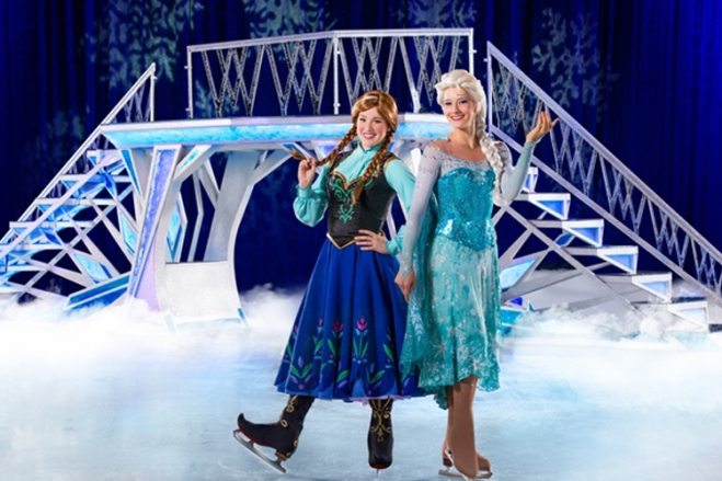 "Sing ""Let it Go"" with your favorite sisters, Anna and Elsa, during Disney on Ice with tickets at great prices from TicketsatWork.com!"