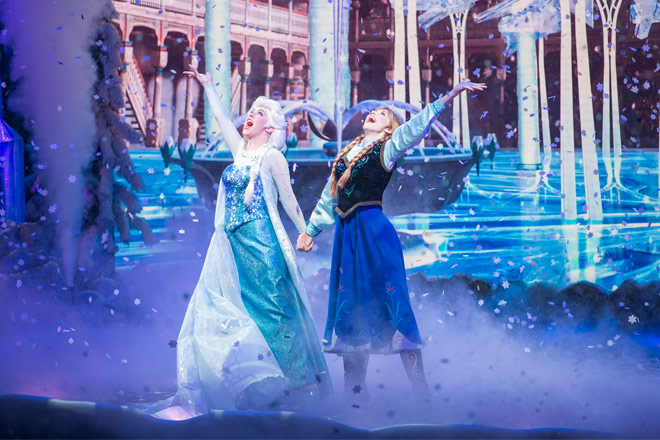 Frozen inspired Stage Musical coming to Disney California Adventure Park