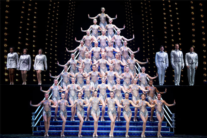 The Radio City Christmas Spectacular Rockettes are fan favorites