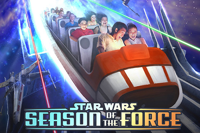 Season of the Force will bring all sorts of Star Wars fun to Disneyland