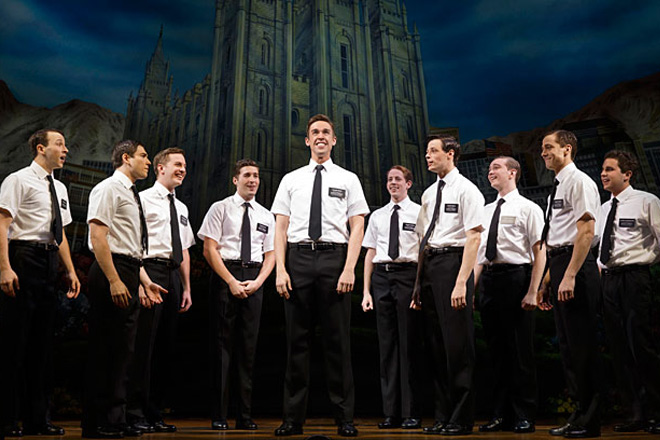 The Book of Mormon Cast in Las Vegas