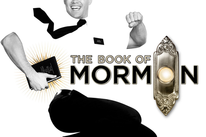 The Book of Mormon performing in Las Vegas