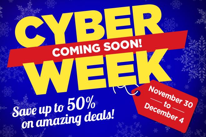 The countdown to Cyber Week is on! Enjoy huge savings all week long at TicketsatWork.com
