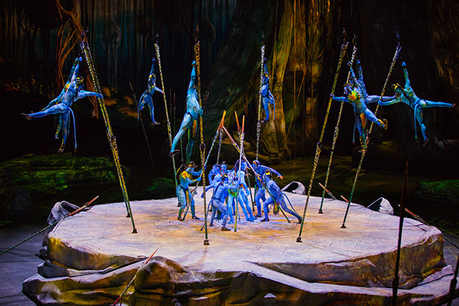 Toruk – The First Flight is Cirque du Soleil's latest show for the whole family