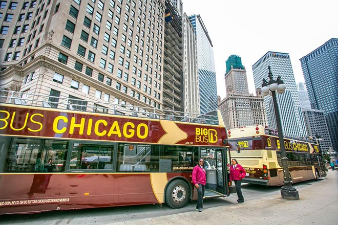 Big Bus Tours are available everywhere, including Chicago