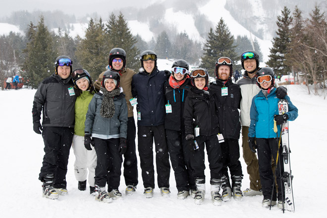 Hunter Mountain is a fun group trip – Photo courtesy of Sourced Adventures