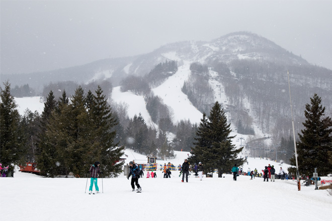 Hunter Mountain has multiple slopes – Photo courtesy of Sourced Adventures