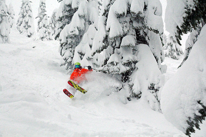 Summit East is home to the best tree skiing – Photo Courtesy The Summit at Snoqualmie