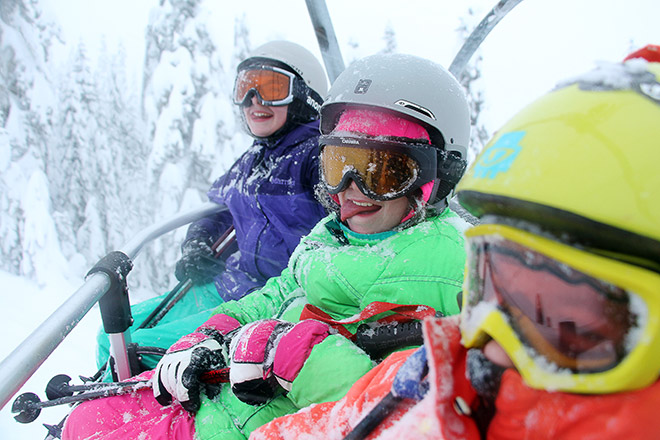 Ski Lifts are the perfect fun for everyone – Photo Courtesy The Summit at Snoqualmie