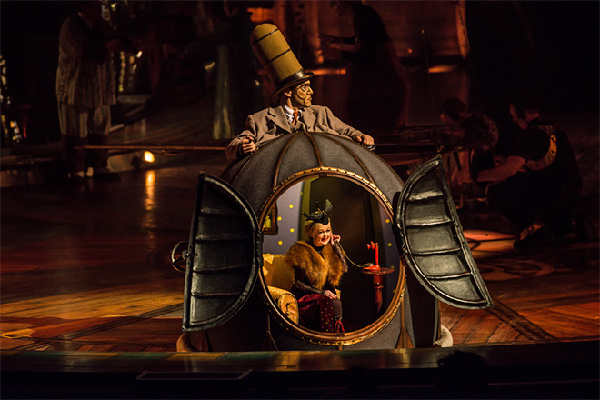 Kurios – Cabinet of Curiosities is magically fun time in Atlanta