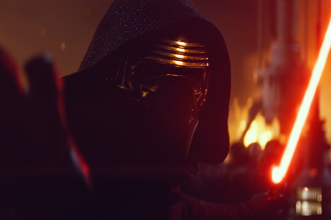 Kylo Ren can now be found inside Star Wars Launch bay with discount Disney tickets