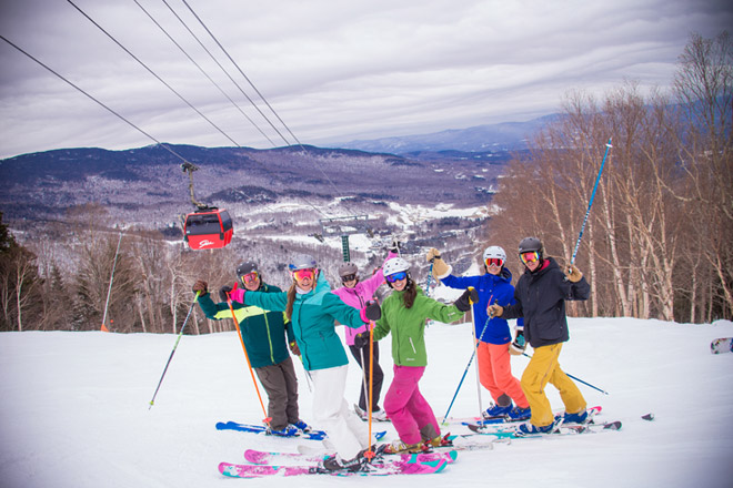 Have fun with your friends at Stowe Mountain with Tickets at Work
