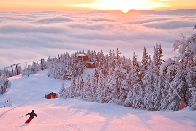 Enjoy the stunning natural beauty of Stowe Mountain