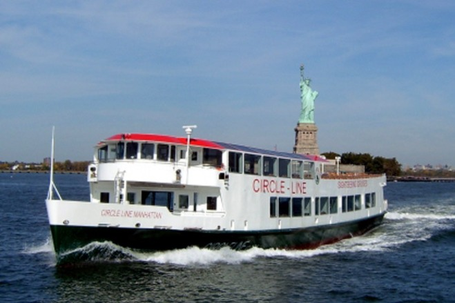 Hop aboard the Best of NYC Cruise by Circle Line Sightseeing with an incredible deal at TicketsatWork!