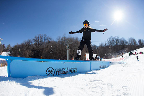 There is plenty of great snowboarding action at Mountain Creek– Courtesy of Mountain Creek