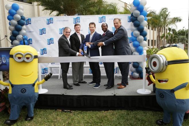 EBG celebrates the opening of their $8 Million Orlando Ticket Center