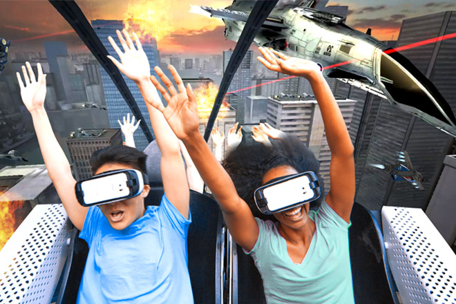 Six Flags has increased the thrills with new virtual reality roller coasters