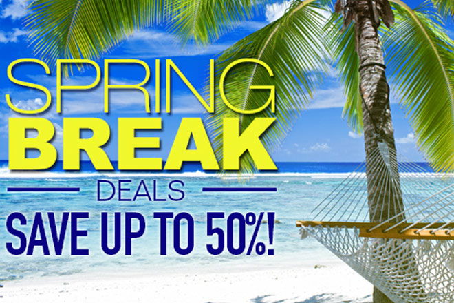 Tickets at Work is your source for huge savings on Spring Break festivities