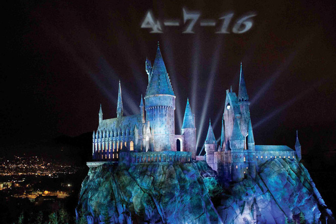Universal Studios Hollywood will open the Wizarding World of Harry Potter on April 7