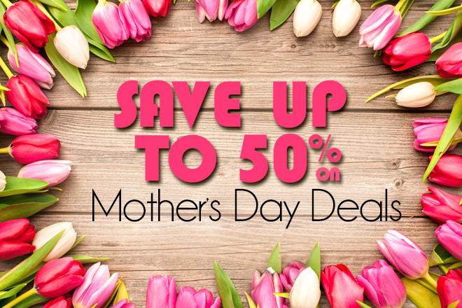 Let Tickets at Work make celebrating your special lady easier this Mother's Day