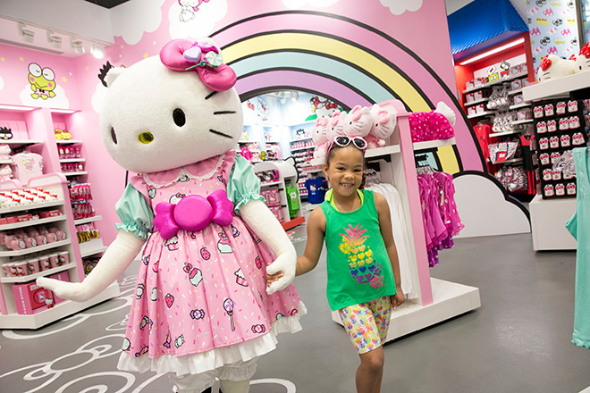 The Hello Kitty store is now open at Universal Orlando