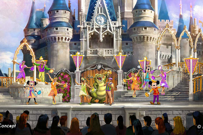 See your favorite Disney characters in the new Mickey's Royal Friendship Faire show