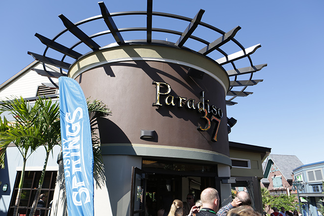 Disney Springs is full of delicious restaurants including Paradiso 37