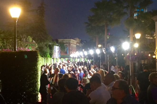 Universal Studios Hollywood rolled out the red carpet for the Wizarding World of Harry Potter opening.
