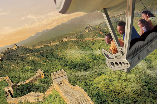 Soaring Around the World is the perfect escape at Epcot