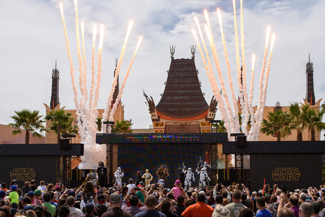 Disney's Hollywood Studios will be home to all your Star Wars entertainment