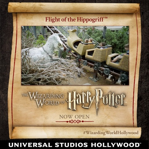 Take off on Flight of the Hippogriff at Universal Studios Hollywood with TicketsatWork.com!