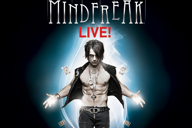Enjoy savings on the best Vegas shows including the newest, MINDFREAK Live!