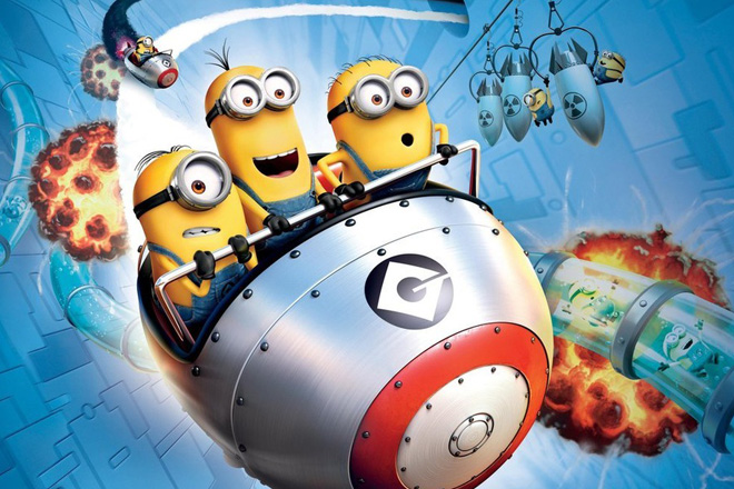 Join the Minions on the new ride, Despicable Me Minion Mayhem