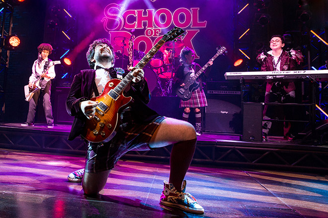 Tony Nominee School of Rock is the perfect Broadway show for the whole family