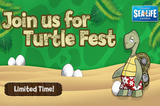 Sea Life Aquarium Orlando opens new Turtle Fest Exhibit at I-Drive 360, which you could experience with great tickets from TicketsatWork.com!
